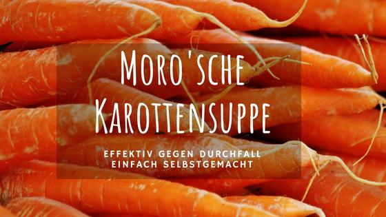 Hühner Durchfall behandeln – Moro'sche Karottensuppe für Hühner